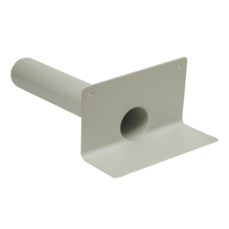 Pvc Angular Drain With Round Spigot For Balconies Length
